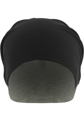 Jersey Beanie reversible blk/gry | one size
