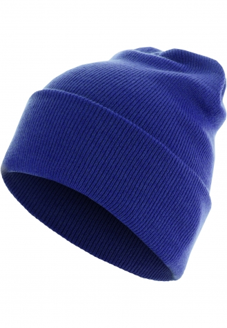 Beanie Basic Flap Long Version royal | one size