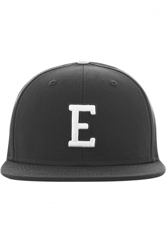 Letter Snapback E | blk/Y