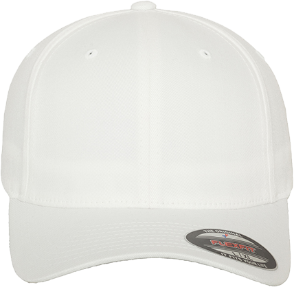 Flexfit Wooly Combed Cap White | XS/S