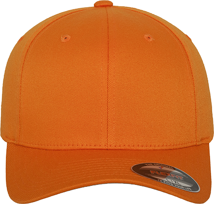 Flexfit Wooly Combed Cap Orange | S/M