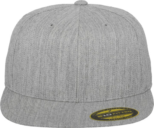 Premium 210 Fitted Woman Heather Grey | S/M