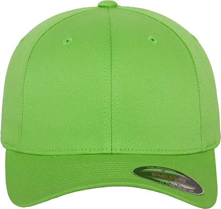 Flexfit Wooly Combed Cap Fresh Green | XS/S
