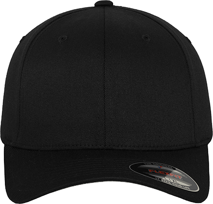 Fitted Baseball Flexfit Cap Black | S/M