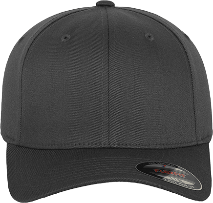 Flexfit Wooly Combed Cap Dark Grey | Youth