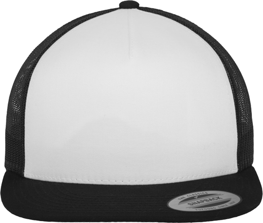 Classic Trucker Caps Men White / Black