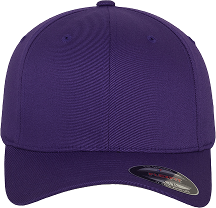 Flexfit Wooly Combed Cap Purple | L/XL