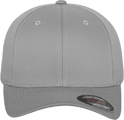 Flexfit Wooly Combed Cap Silver | XS/S