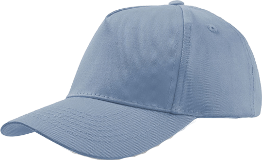 5 Panel Kinder Base Cap Light Blue
