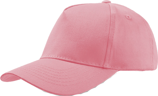 5 Panel Kinder Base Cap Rosa