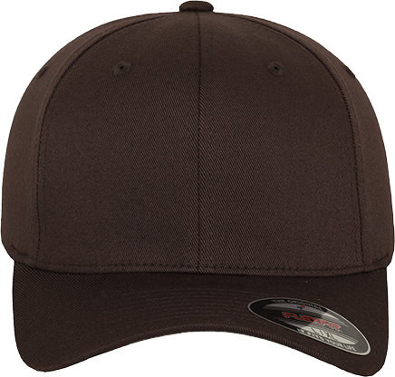 Flexfit Wooly Combed Cap Brown | XXL