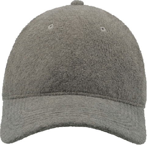 Polar Fleece Baseball Cap Grey | S/M