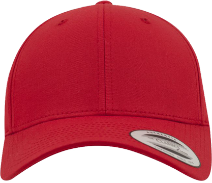 Curved Classic Snapback Red