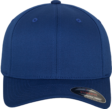Flexfit Wooly Combed Cap Royal | Youth