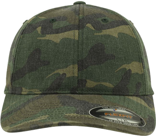 Garment Washed Camo Cap Camo | S/M