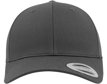 Curved Classic Snapback Charcoal