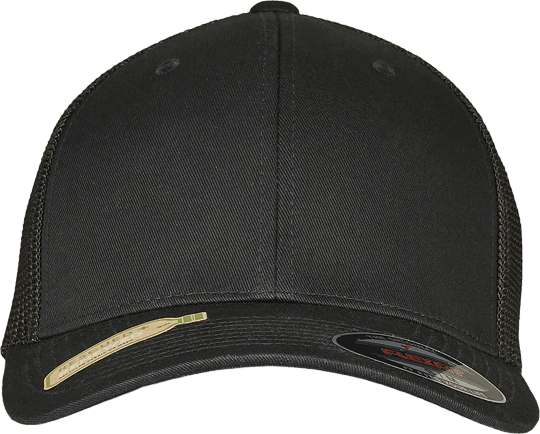 Flexfit Trucker Recycled Mesh black/black | S/M