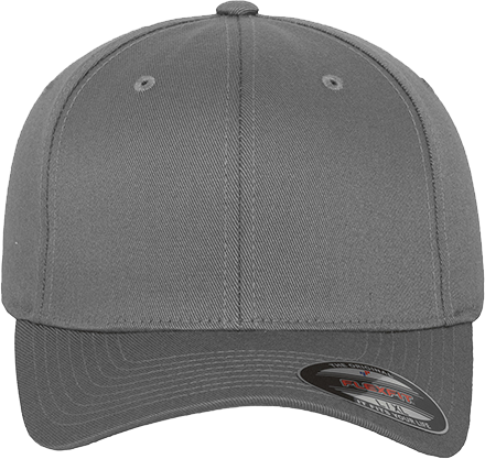 Fitted Baseball Flexfit Cap Grey | XS/S