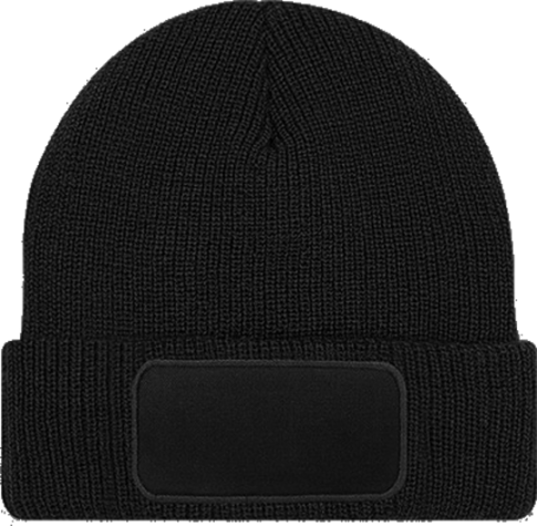 Patch Beanie Thinsulate Black