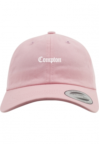 Compton Dad Cap Low Profile pink | one size