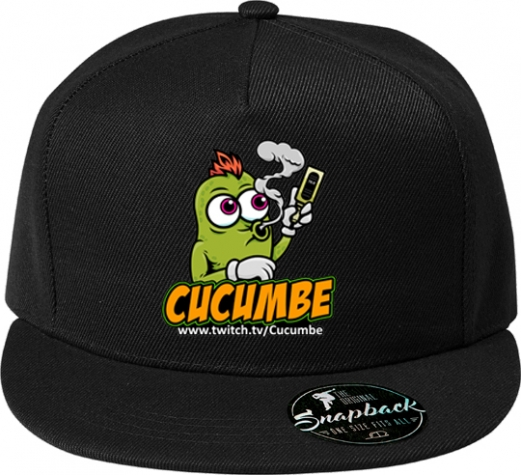 5 Panel Rapper Cap Dampfi Cucumbe