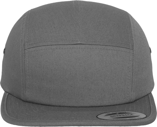 Classic Jockey Cap Woman  Dark Grey