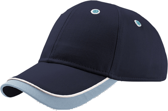 Baseball Cap Kid Star Navy/Light Blue