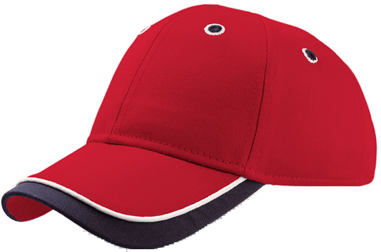 Baseball Cap Kid Star Red/Navy