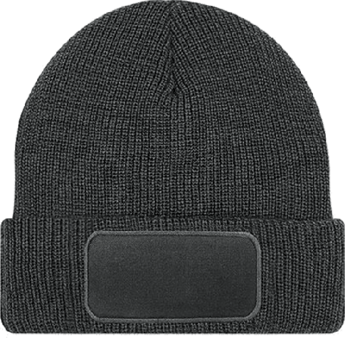 Patch Beanie Thinsulate Graphite Grey