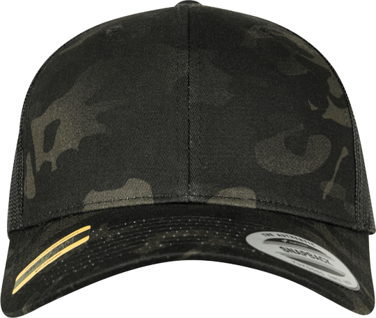 Multicam Retro Trucker Snapback