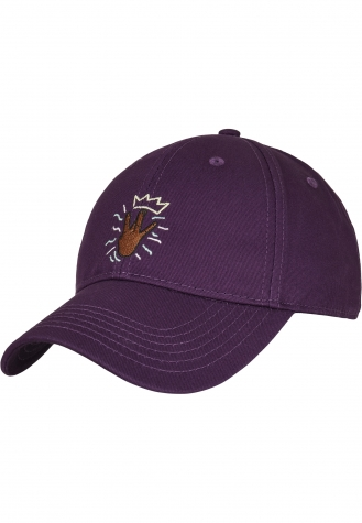 C&S WL King Lines Curved Cap purple/mc | one size