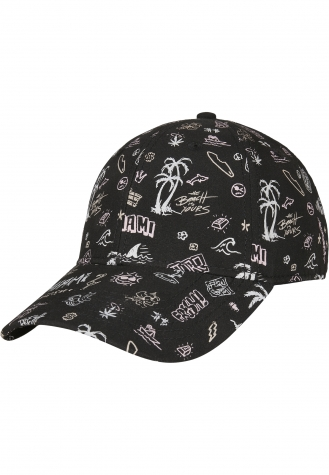 C&S WL Sager Curved Cap black/mc   one size
