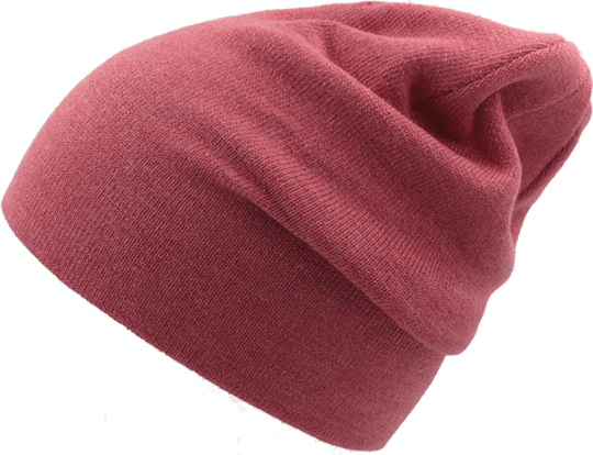 Cuff Beanie Kids Red Melange
