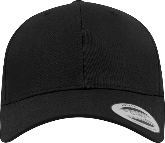 Curved Classic Snapback Black