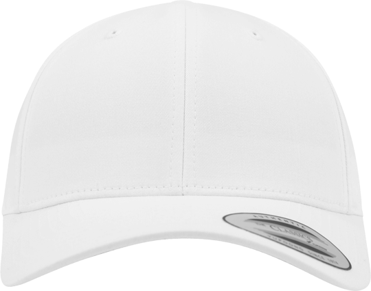 Curved Classic Snapback White