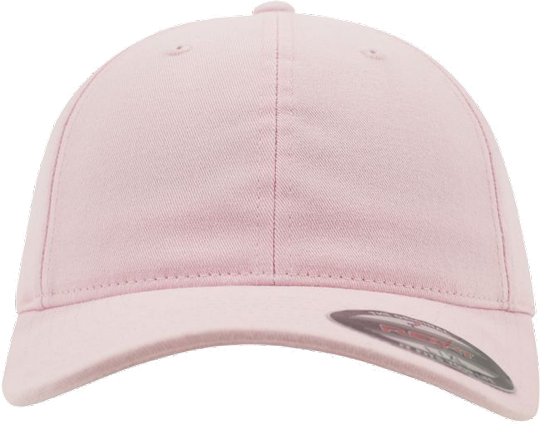 Garment Washed Cotton Dad Hat Pink | S/M