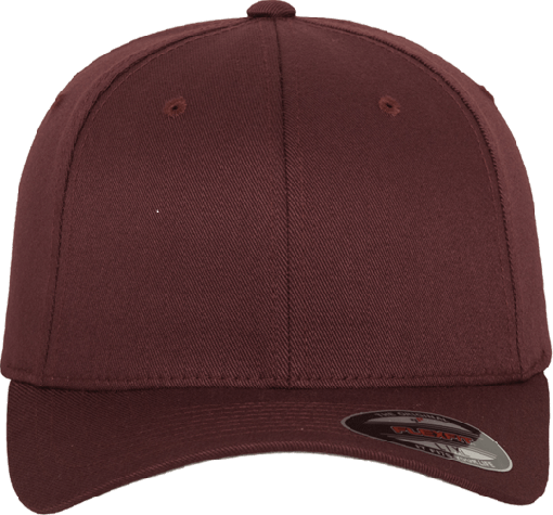 Flexfit Wooly Combed Cap Maroon | Youth