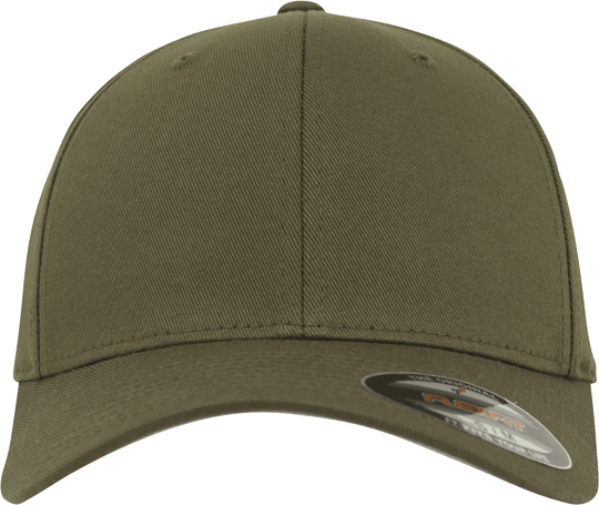 Flexfit Wooly Combed Cap Olive | Youth