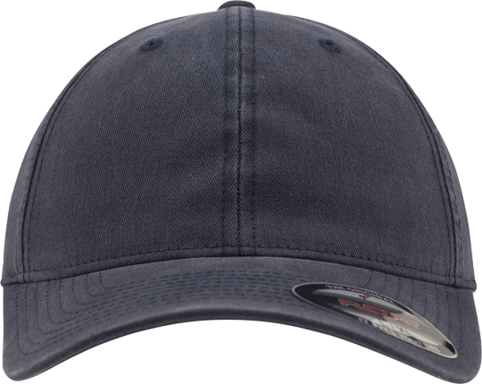 Garment Washed Cotton Dad Hat Navy | S/M