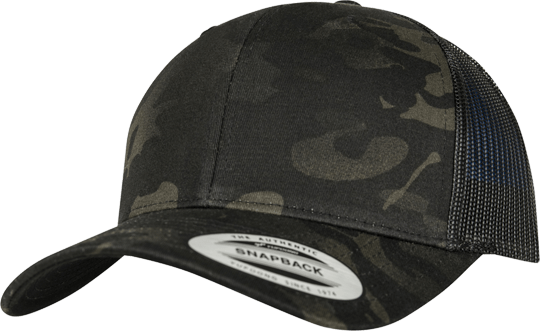 Multicam Retro Trucker Snapback Multicam / Black