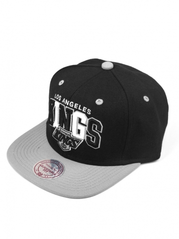 Mitchell & Ness BLK TRI Snapback Los Angeles Kings black