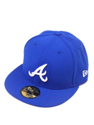 New Era MLB Atlanta Braves azure blue 59FIFTY