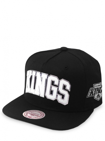 Mitchell & Ness Snapback Cap LA Kings Blacked Out Sonic