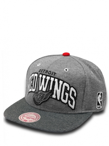 Mitchell & Ness Snapback Cap Warm Up Detroit Red Wings