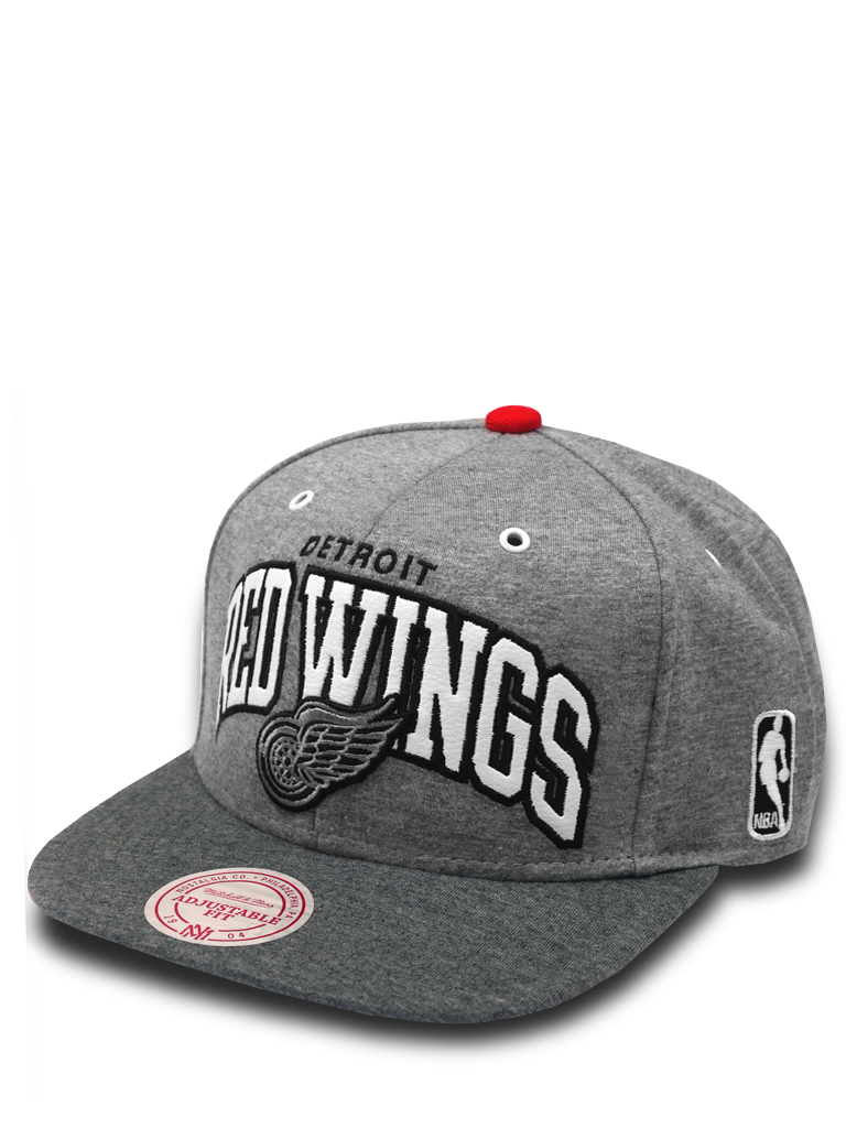 selber gestalten mitchell ness snapback cap warm up detroit red wings cap. Black Bedroom Furniture Sets. Home Design Ideas